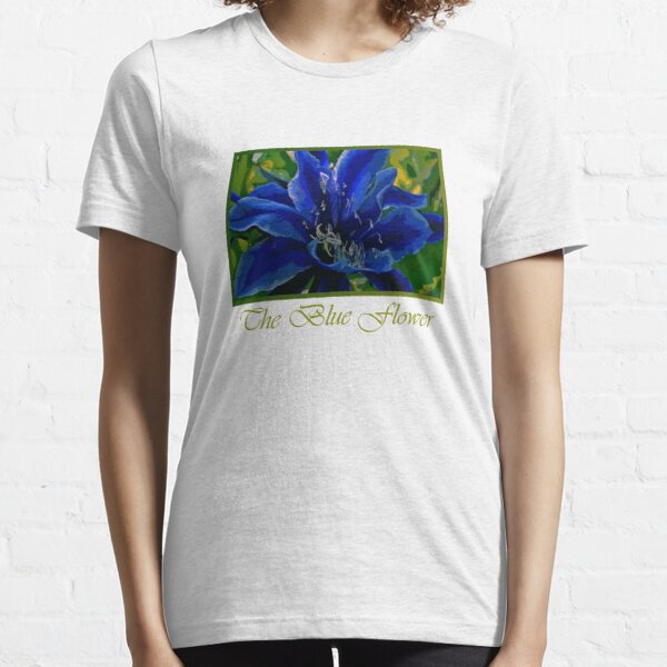 The Blue Flower Essential T-Shirt