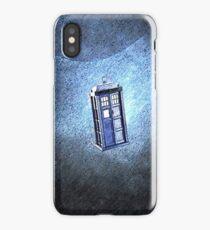 Space Tardis iPhone Case