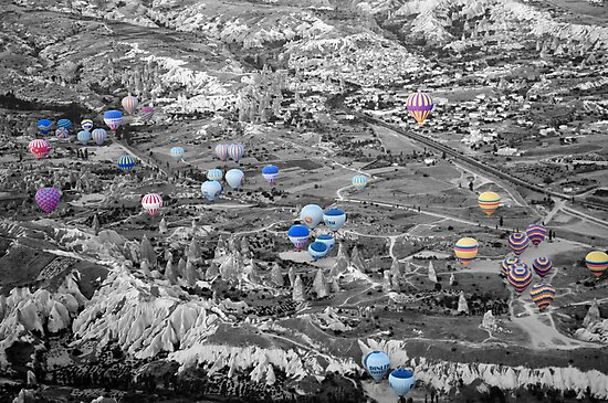 Multiple balloons by Erny1974