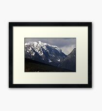 Crown Mountain Framed Print