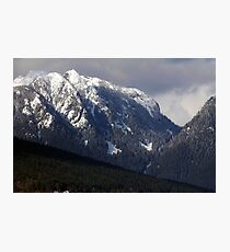 Crown Mountain Photographic Print