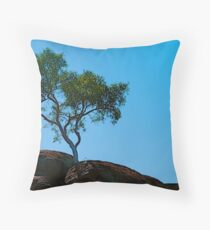 Rooted in Rock Throw Pillow
