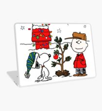 Snoopy and Charlie Brown Laptop Skin