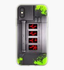Predator Self-Destruct Blood Splatter iPhone Case