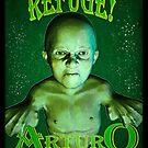 Arturo the Aqua Boy by senatorgreaves