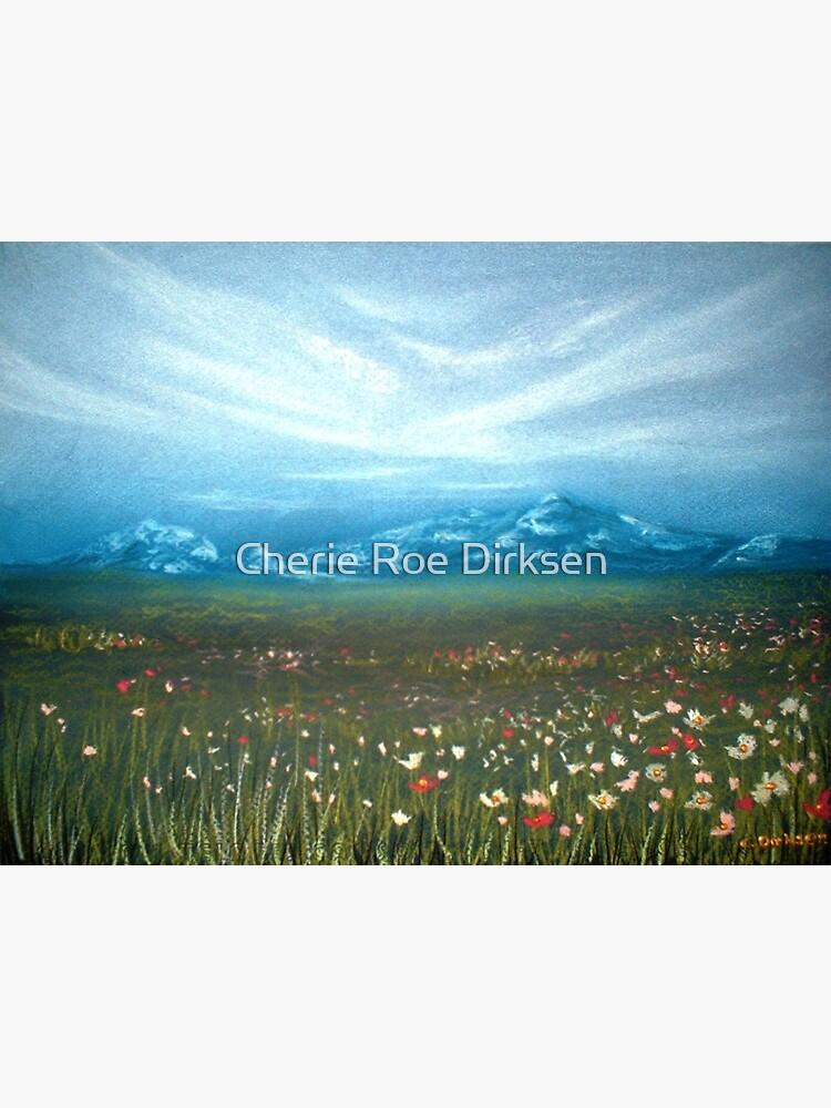 Field of Cosmos by cheriedirksen