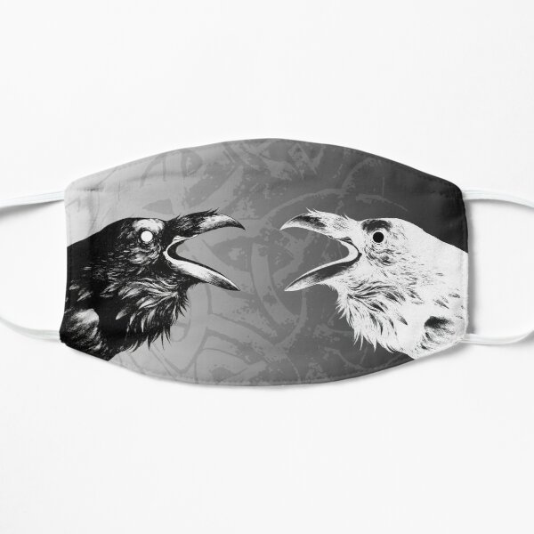 Huginn and Muninn (Thought and Memory) Mask