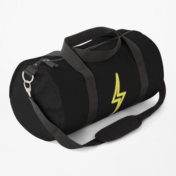 LED Neon Sign Light Lightning Yellow  Duffle Bag