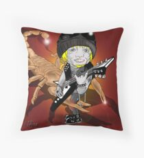 Michael Schenker Throw Pillow