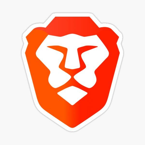 Brave Browser Sticker