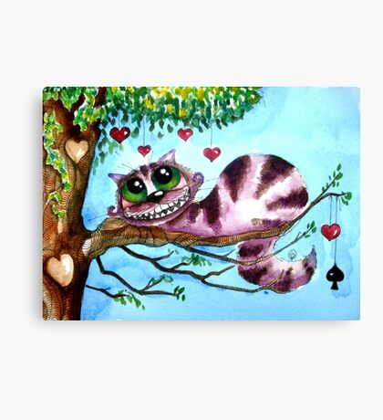 The Cheshire Cat - so much love Canvas Print