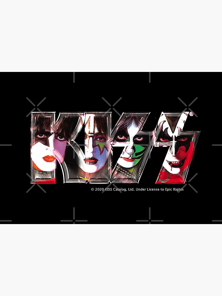 Kiss Band Logo - All Members Faces by musmus76