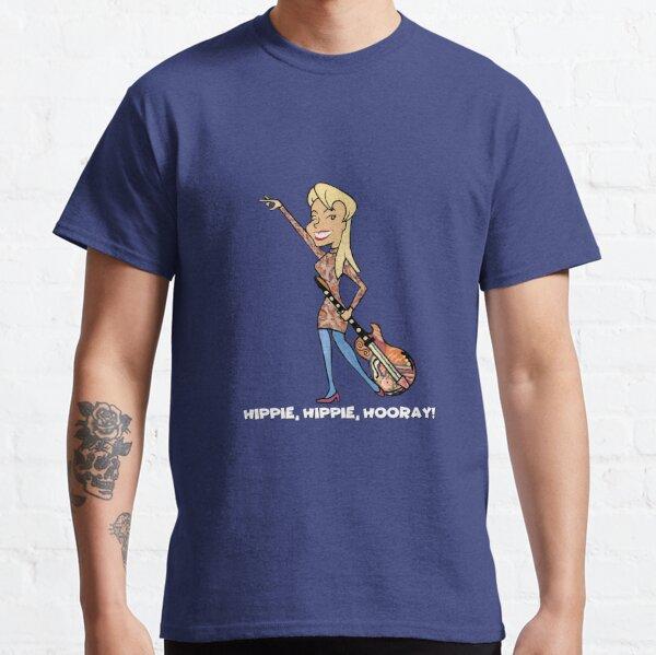 Hippie, Hippie, Hooray! Classic T-Shirt