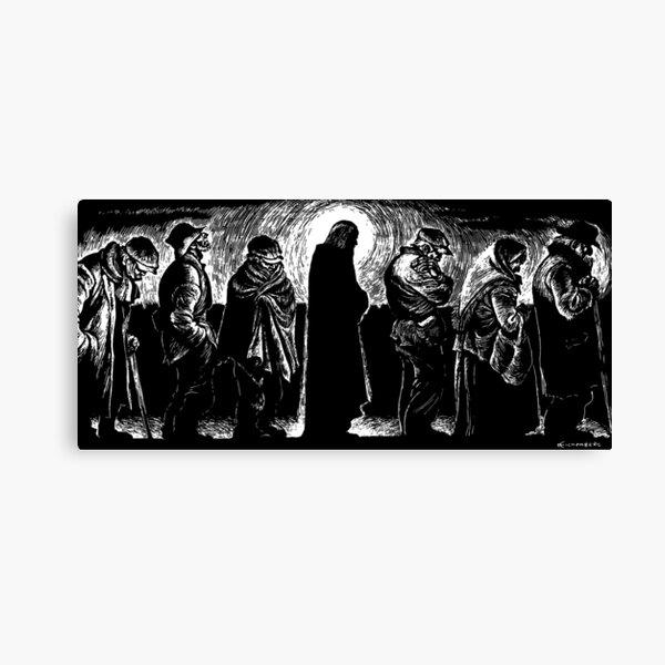 Jesús de las líneas de pan Lienzo