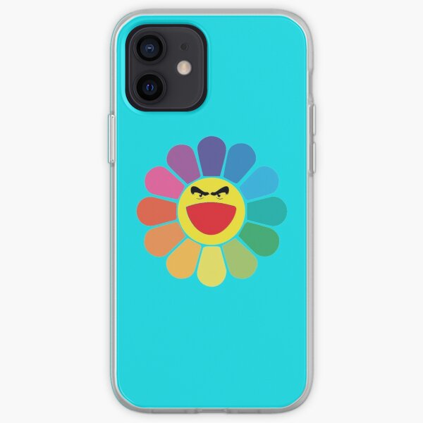 Takashi Murakami Happy Flower Coque souple iPhone