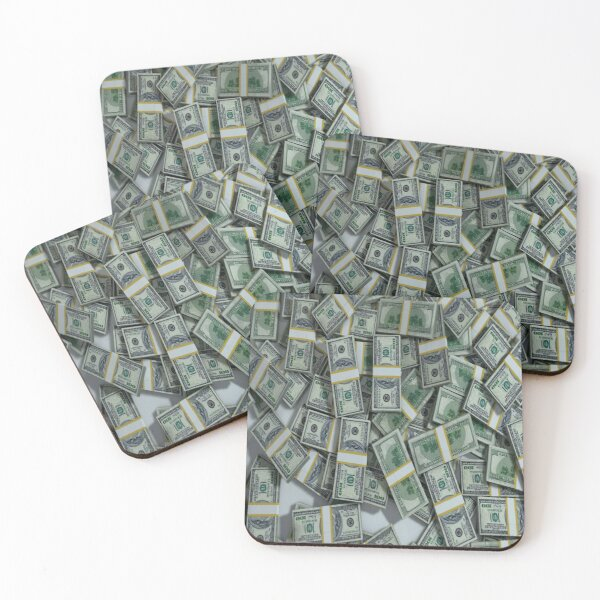 Money Coasters (Set of 4)