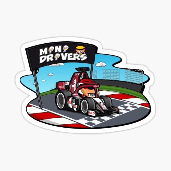 MiniDrivers - # 7 - MiniRai Sticker
