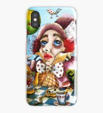 The Mad Hatter - time for tea iPhone Case/Skin
