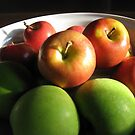 Apples Red & Green by Tim Miklos