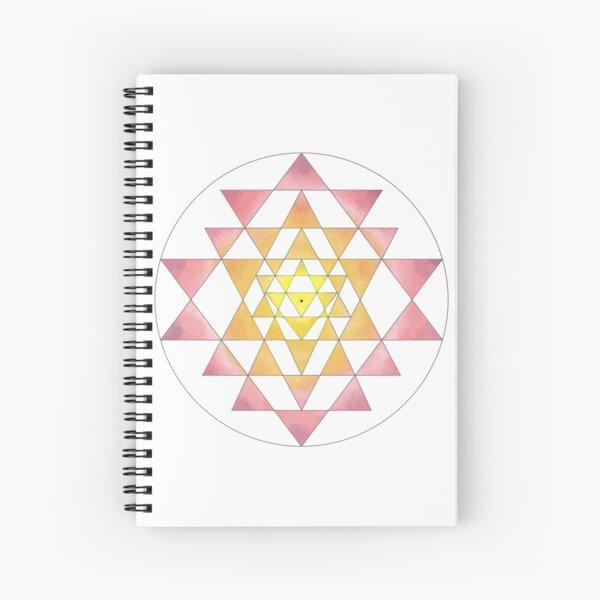 Sri Yantra 09 Spiral Notebook