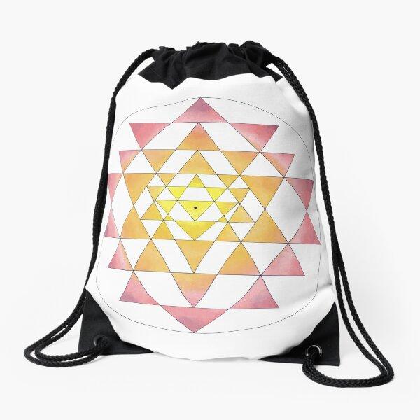 Sri Yantra 09 Drawstring Bag