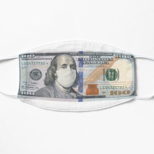Masked 100 Dollar Benjamin Franklin - Corona style Mask