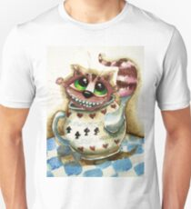 The Cheshire Cat - snuggly teapot Unisex T-Shirt