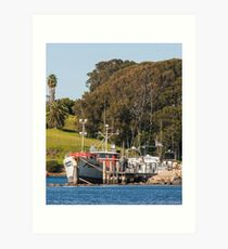 Jetty on Bluewater Drive, Narooma Art Print