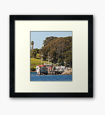 Jetty on Bluewater Drive, Narooma Framed Print