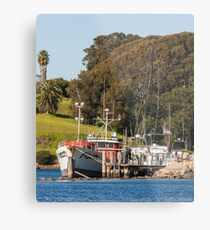 Jetty on Bluewater Drive, Narooma Metal Print