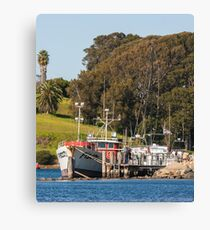Jetty on Bluewater Drive, Narooma Canvas Print