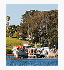 Jetty on Bluewater Drive, Narooma Photographic Print