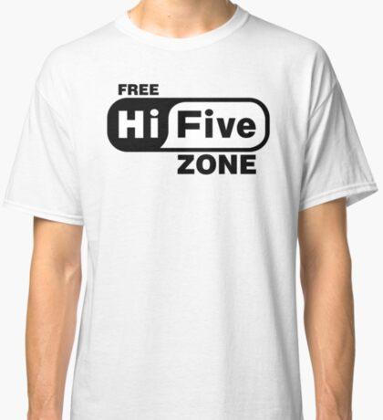 Free Hi Five Zone T-Shirts & Stickers Classic T-Shirt