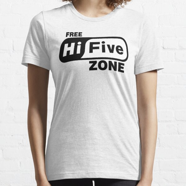 Free Hi Five Zone T-Shirts & Stickers Essential T-Shirt