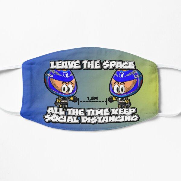 Verlasse den Raum Maske