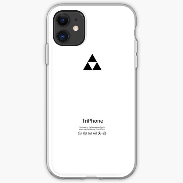 TriPhone (WHITE) iPhone Soft Case
