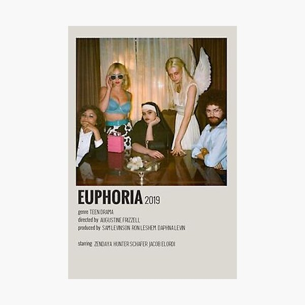 affiche du spectacle de l'euphorie Impression photo