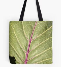 Savoy Cabbage Macro Tote Bag