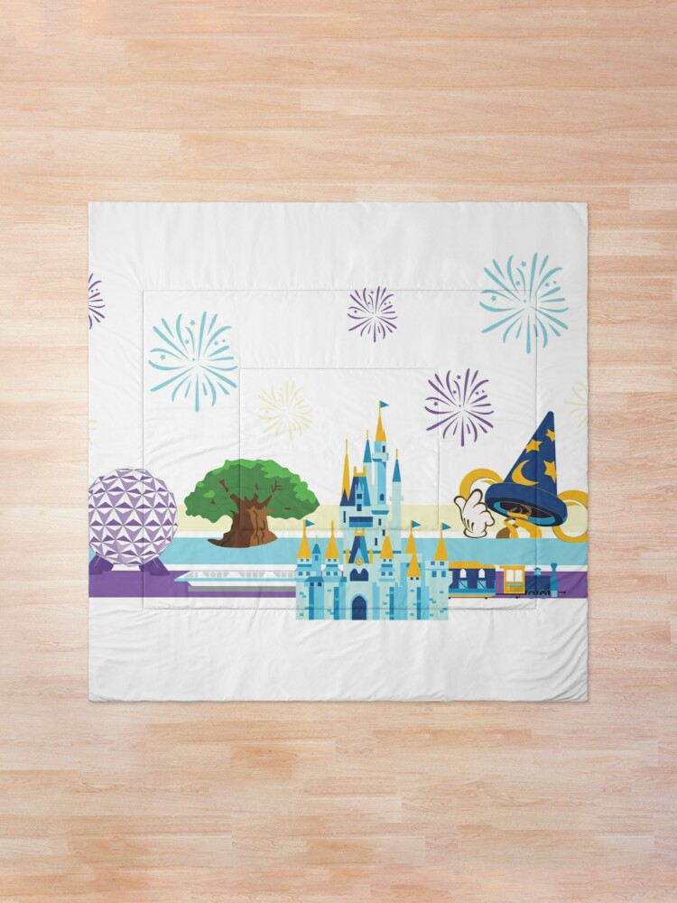 Alternate view of Magical Kingdom  Comforter