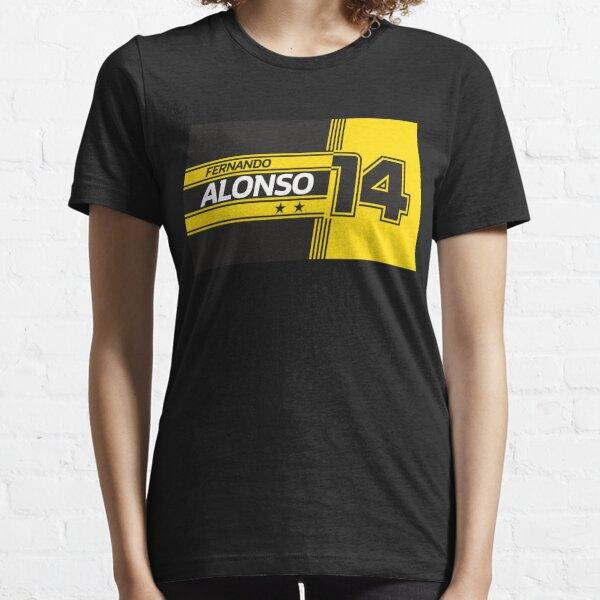 Fernando Alonso Renault   F1 Camiseta esencial