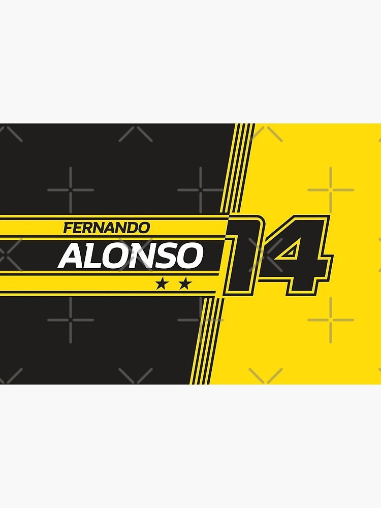 «Fernando Alonso Renault | F1» par SpeedFreakTees