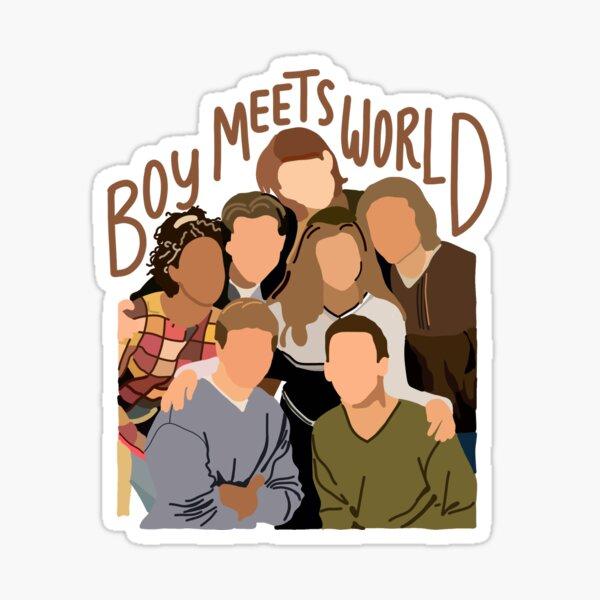 boy meets world cast  Sticker