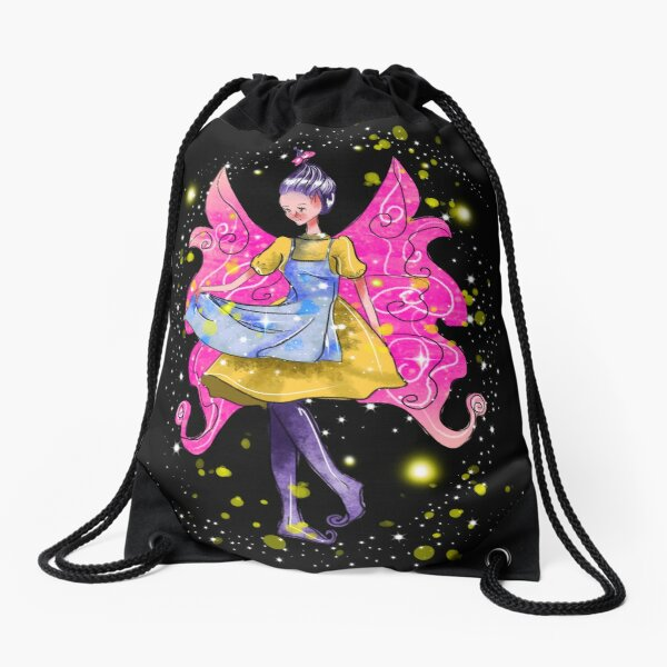 Abella The Apron Fairy™ Drawstring Bag