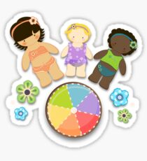 Summer Friends Sticker