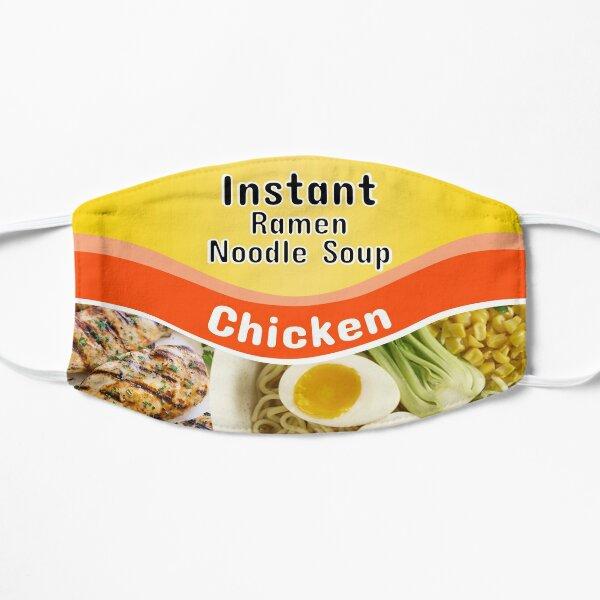 Instant Ramen Noodle Flat Mask