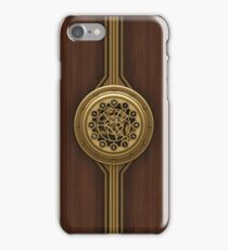Steam Punk Decorative Wooden Case iPhone Case/Skin