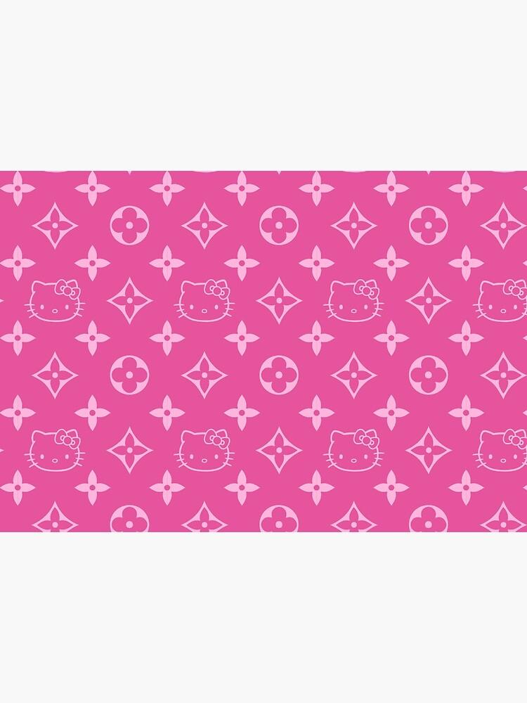 Pink Y2K kitty designer print by lunar0000