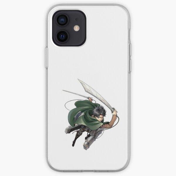 Livai Ackerman - Shingeki No Kyojin Coque souple iPhone