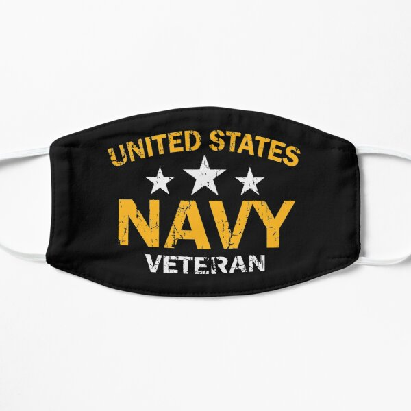 United States Navy Veteran - US Navy Vet Gift Mask