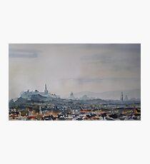 My Edinburgh Photographic Print